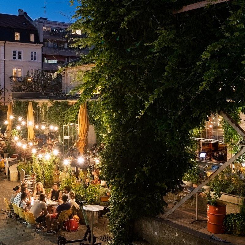 Terrasse / Garten / von oben