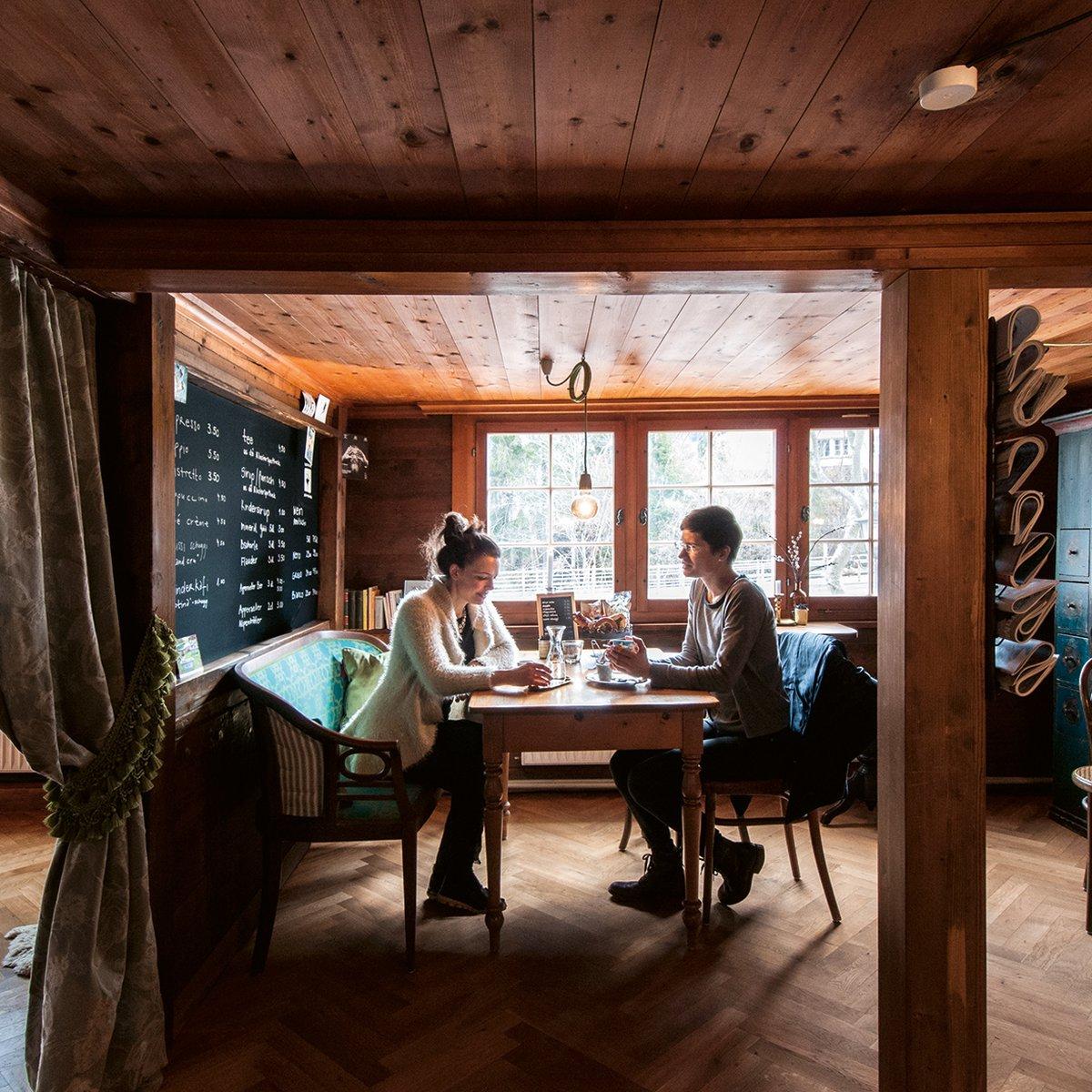 Der Caféraum