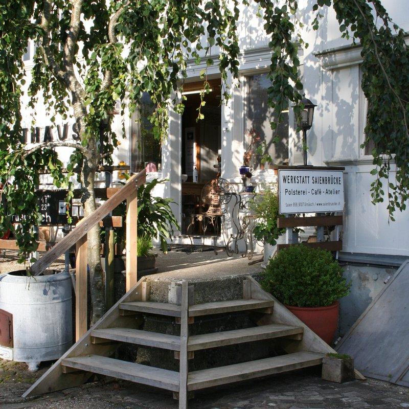 Die Caféterrasse