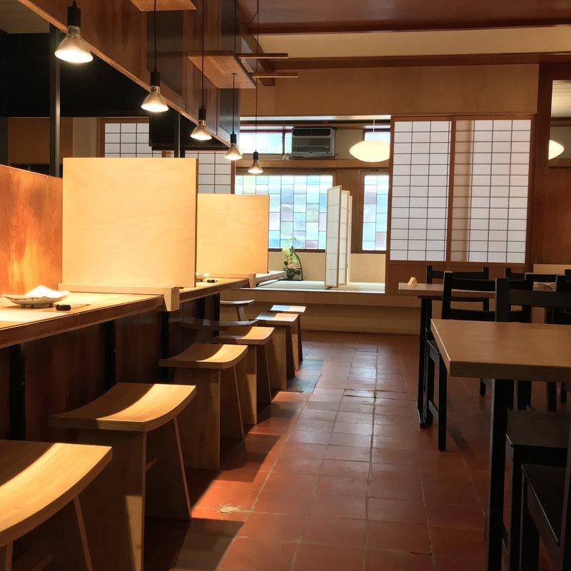 Hauptraum Richtung Tatami-Bereich