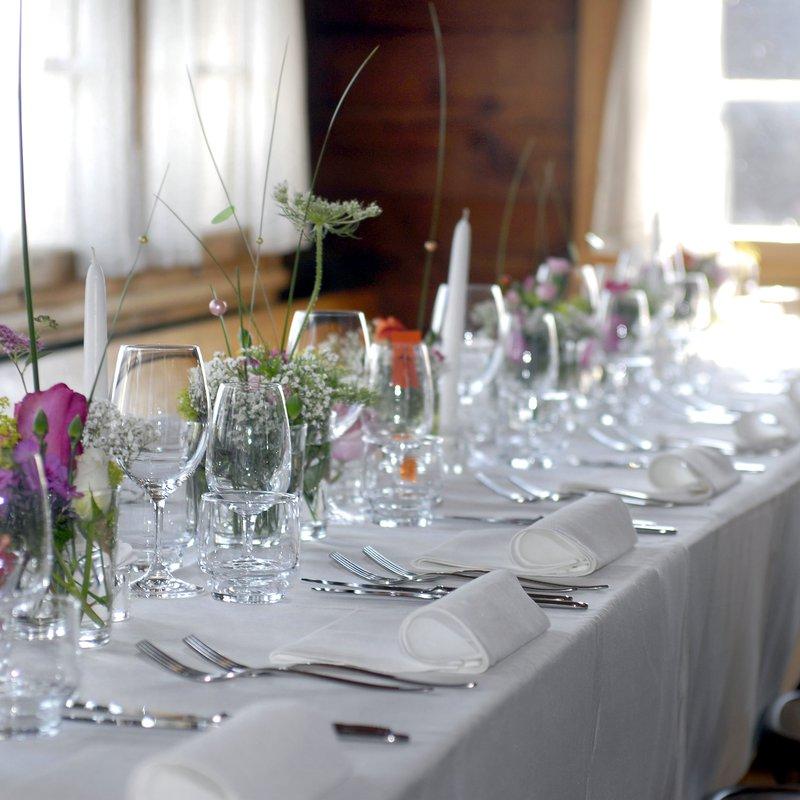 Saal Hochzeit