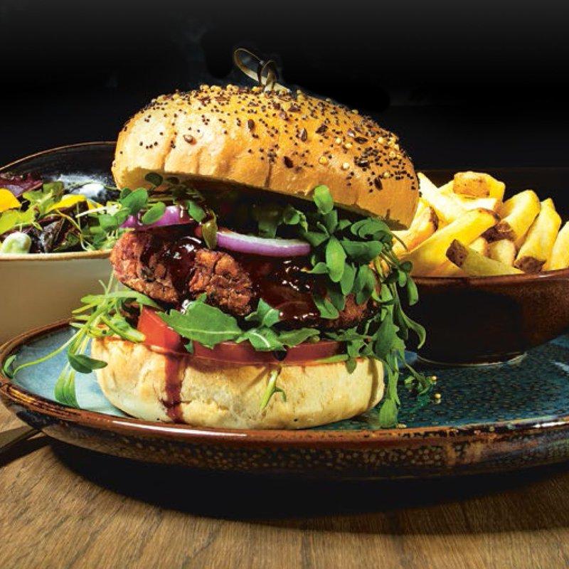 Piri Piri (Vegan) Burger