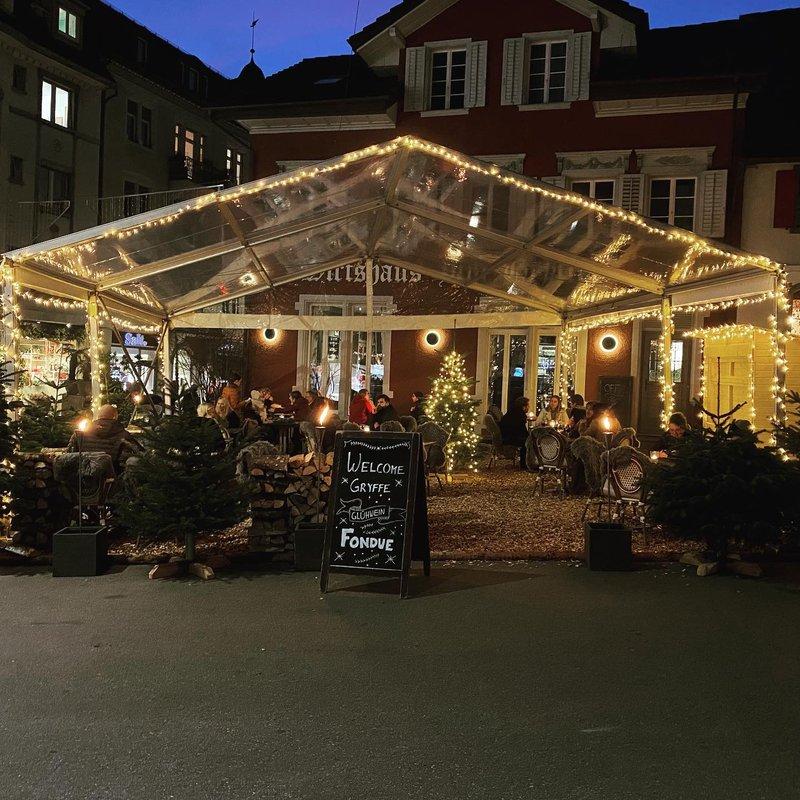 Gryffeplatz im Winter