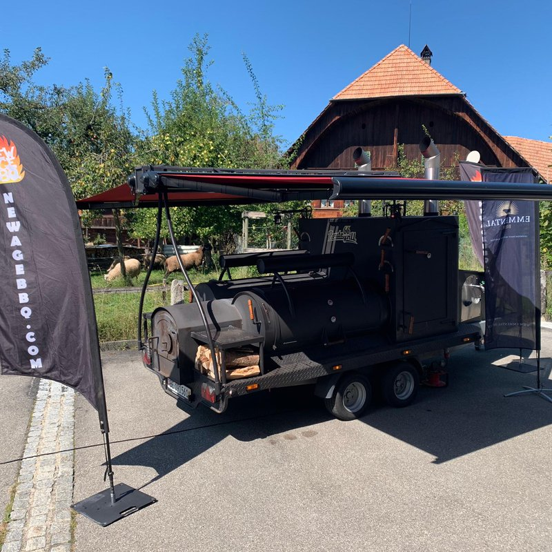 XXL Barbecue Smoker von New Age BBQ