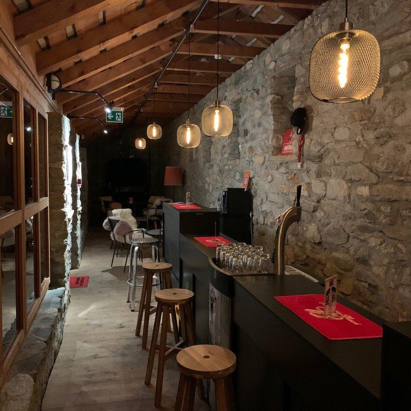 Bar Richtung Lounge