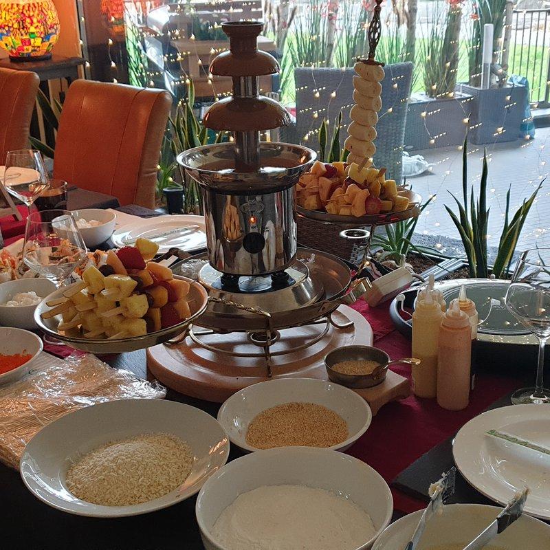 Geburtstag mit Sushiworkshop und Schokoladenbrunnen