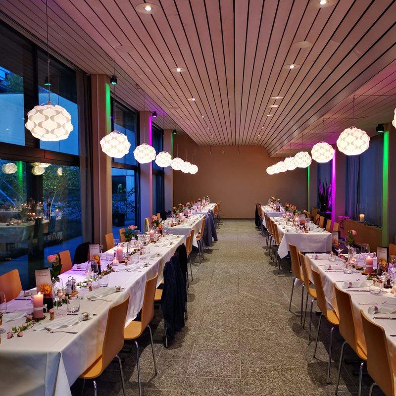 Dekoration Abendessen