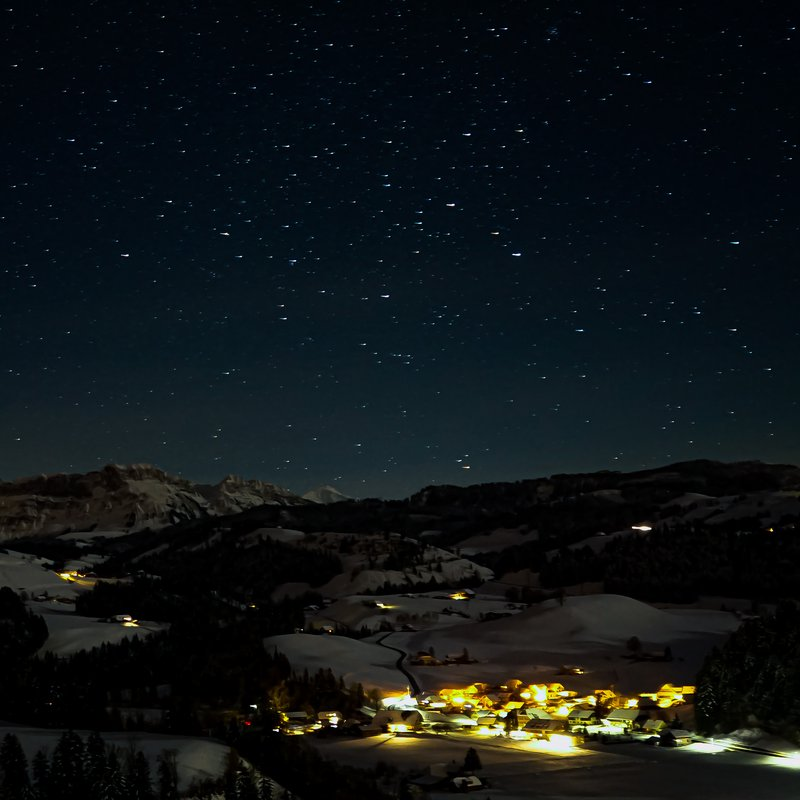 Eggiwil by nigth