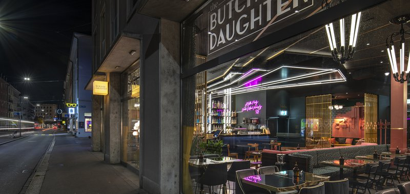 The Butcher & his Daughter Bild