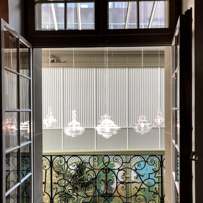 Balkon,  Hof-Café
