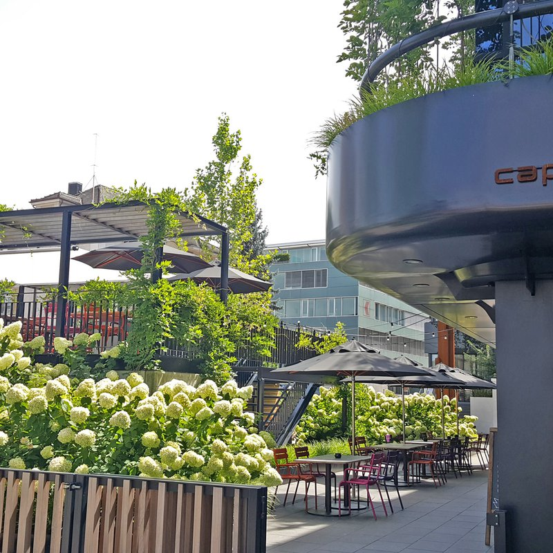Capolinea Restaurant Garten