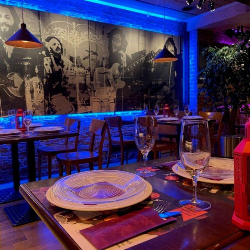 Muffis Nachtrestaurant, Parterre
