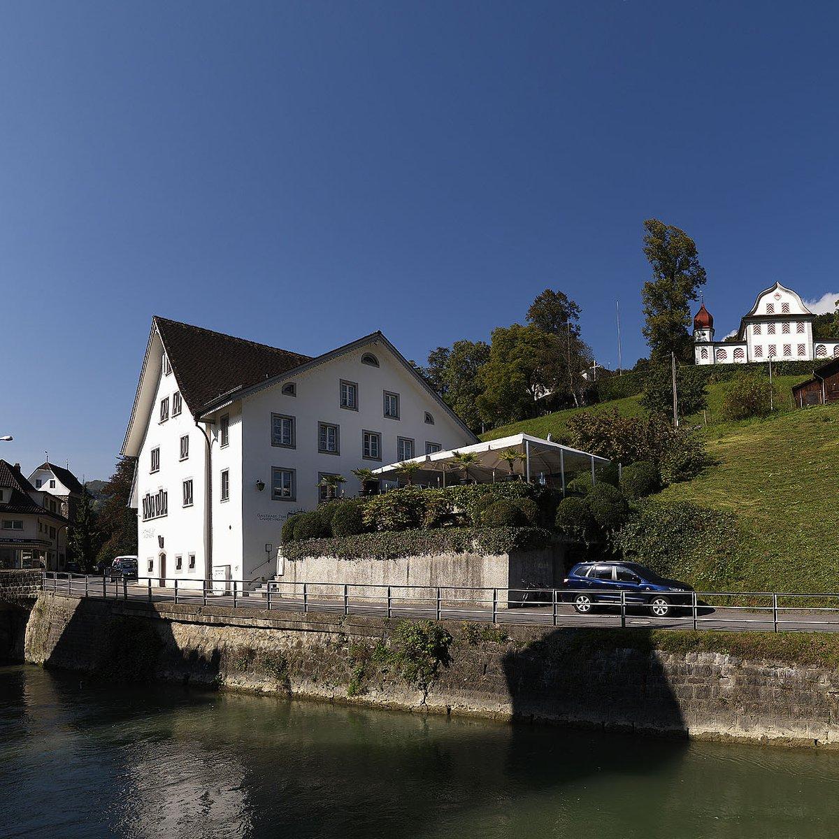 Das unter eidg. Denkmalschutz gestellte Gebäude (1547)