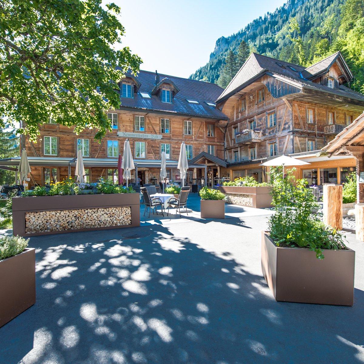 Restaurant Terrasse im Sommer