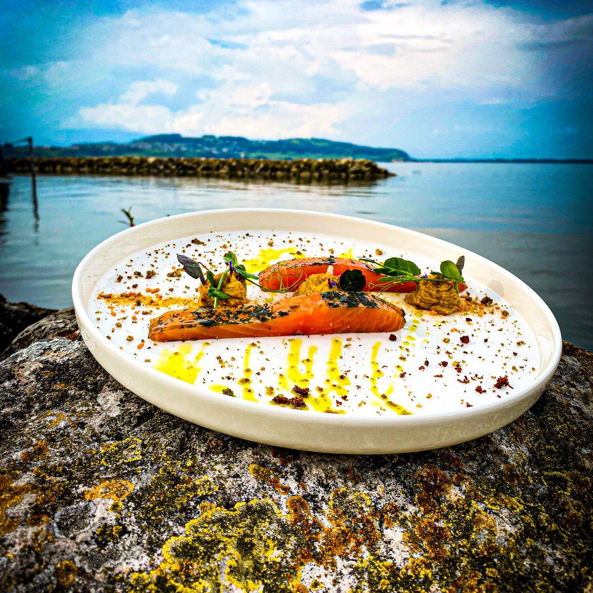 Hausgeräucherter Schweizer Lachs aus Lostallo