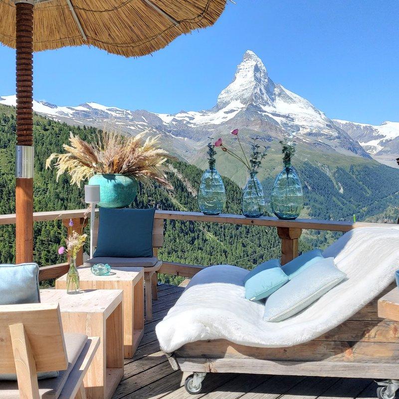 Lounge mit Aussicht