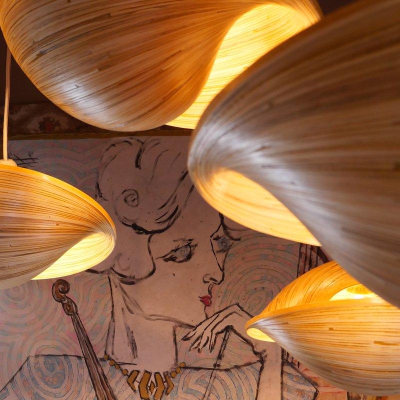 Lampen im Restaurant @Paradise