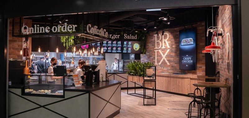 BRIX Burger X Salad Image