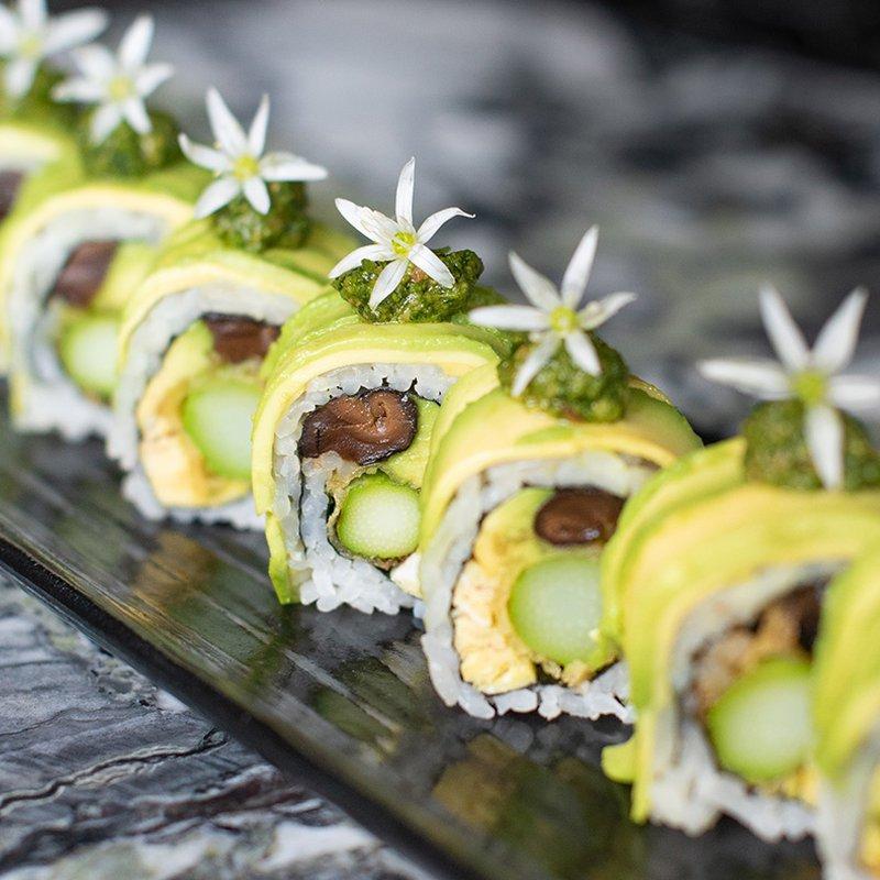 Vegane Green Power Roll