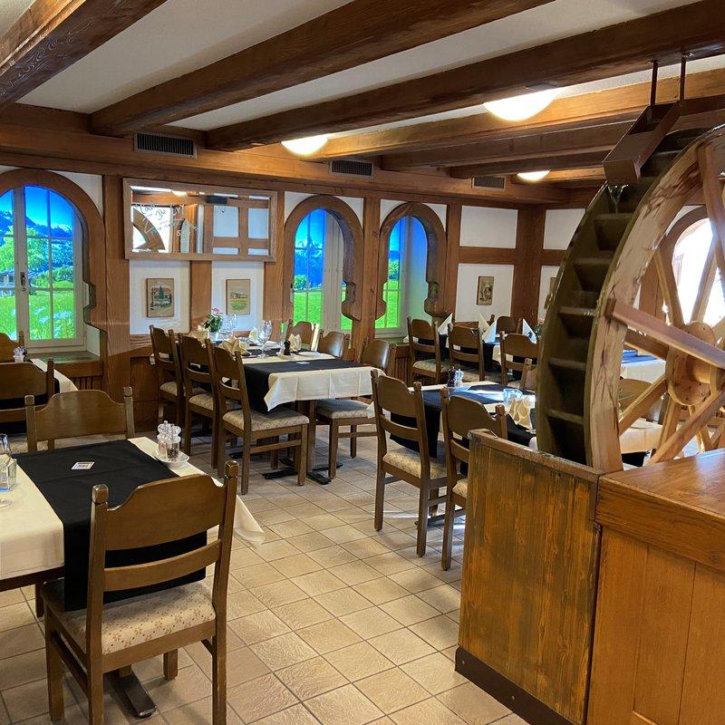 Innenbereich Mühle