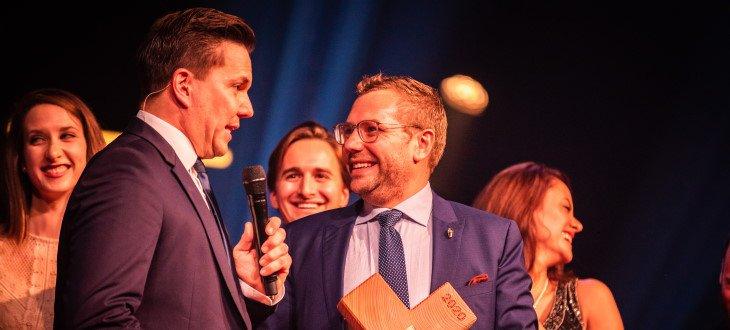 Dirk Hany sul premio Best of Swiss Gastro Award