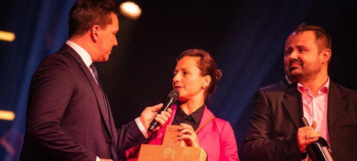 Eugenie Nicoud sul premio Best of Swiss Gastro Award