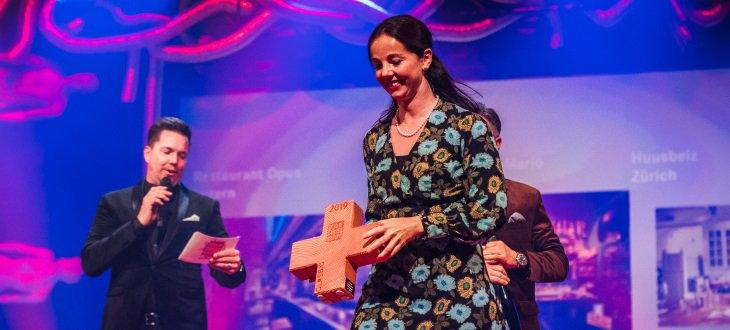 Sabine Sailer über den Best of Swiss Gastro Award
