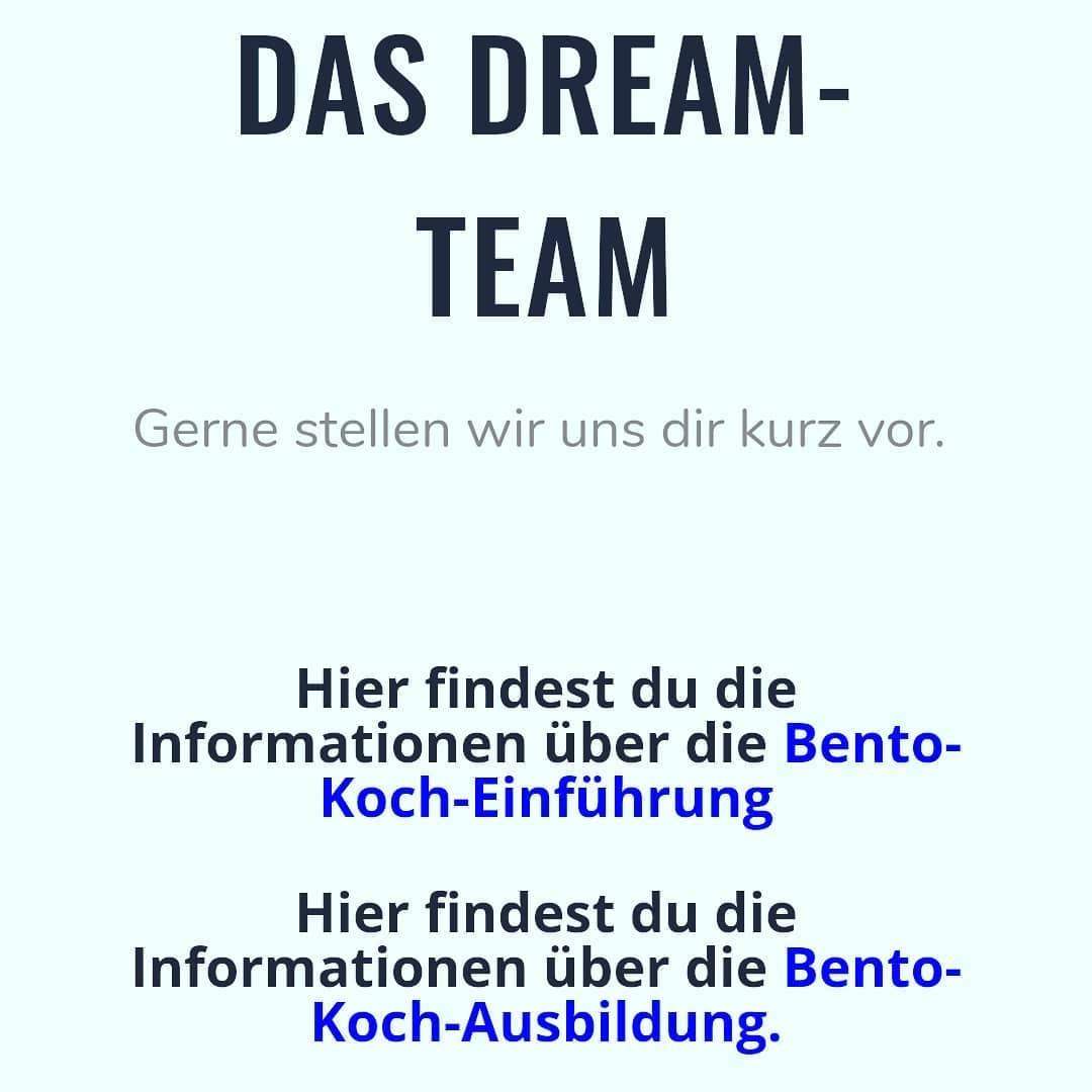 Das Bento-Dream-Team