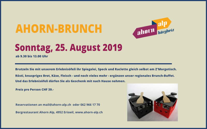 Grosser Ahorn-Brunch