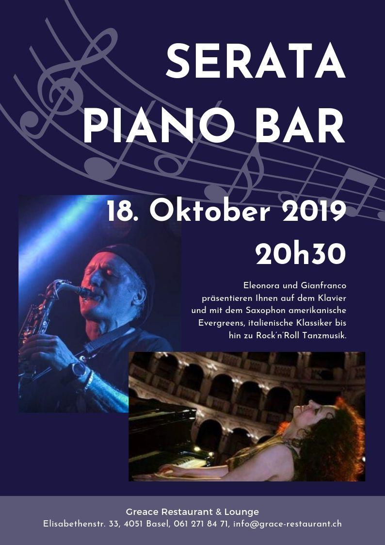 Serata Piano Bar