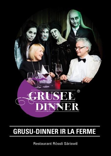 Grusu-Dinner im Rössli Säriswil