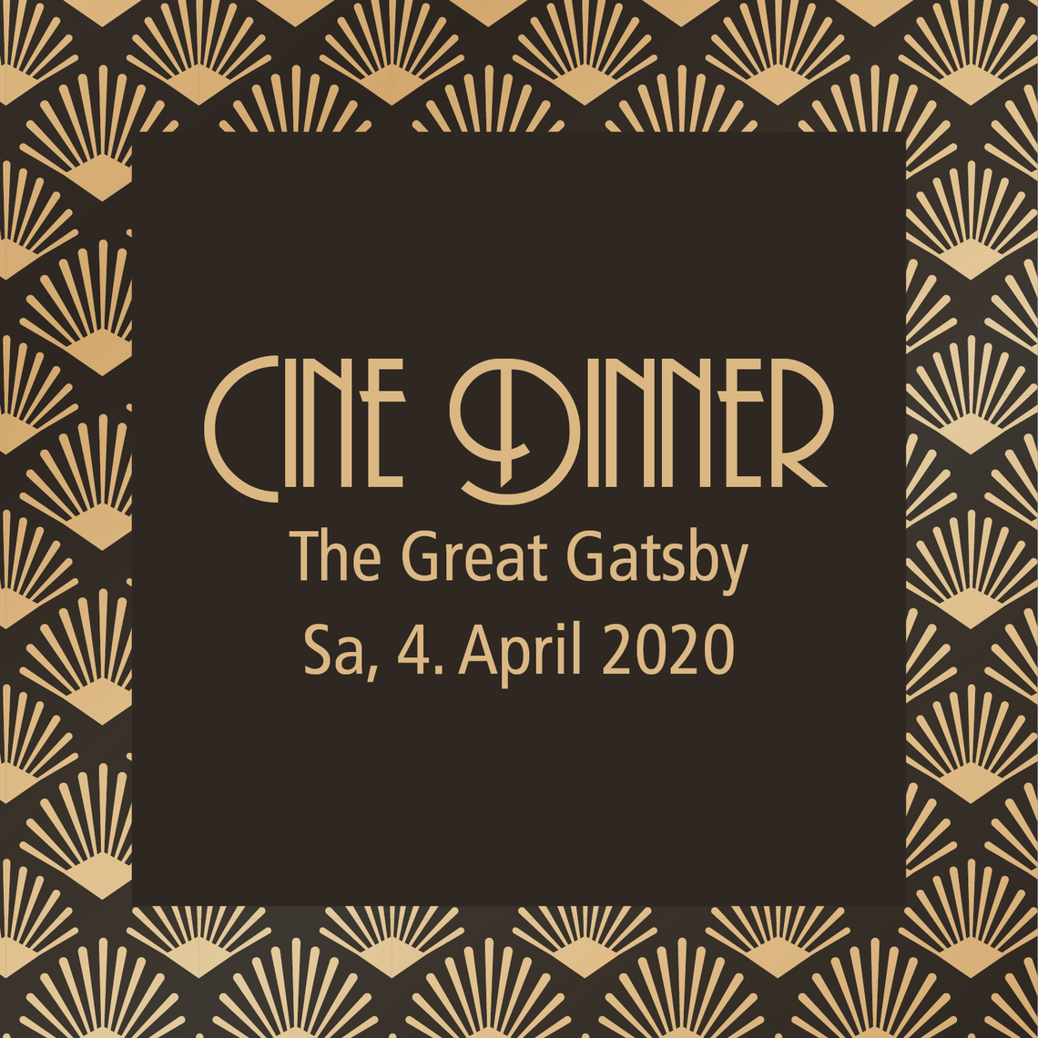 Cine Dinner - Roaring Twenties