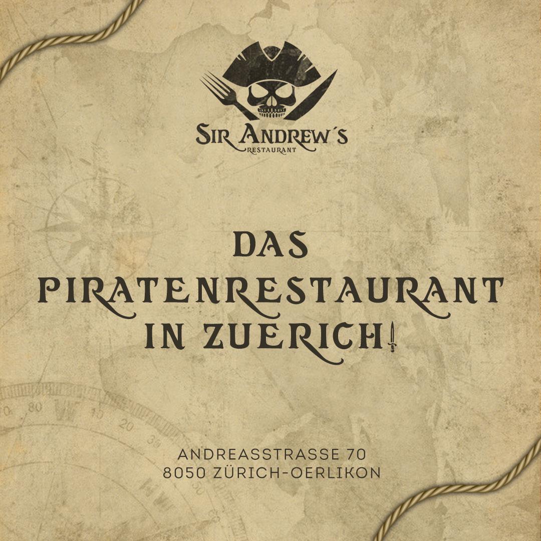 Sir Andrew's Restaurant Eröffnung