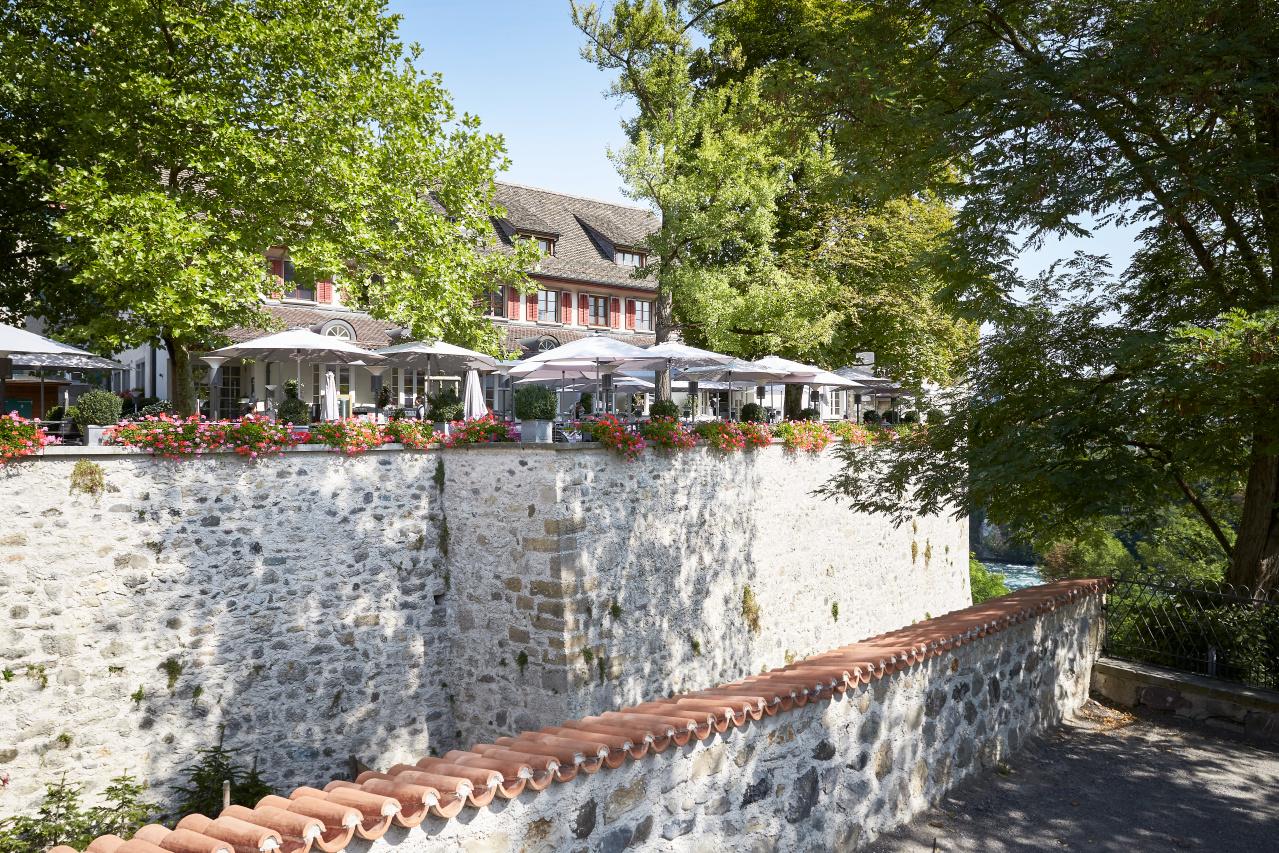 Schloss-Terrasse an Pfingsten geöffnet