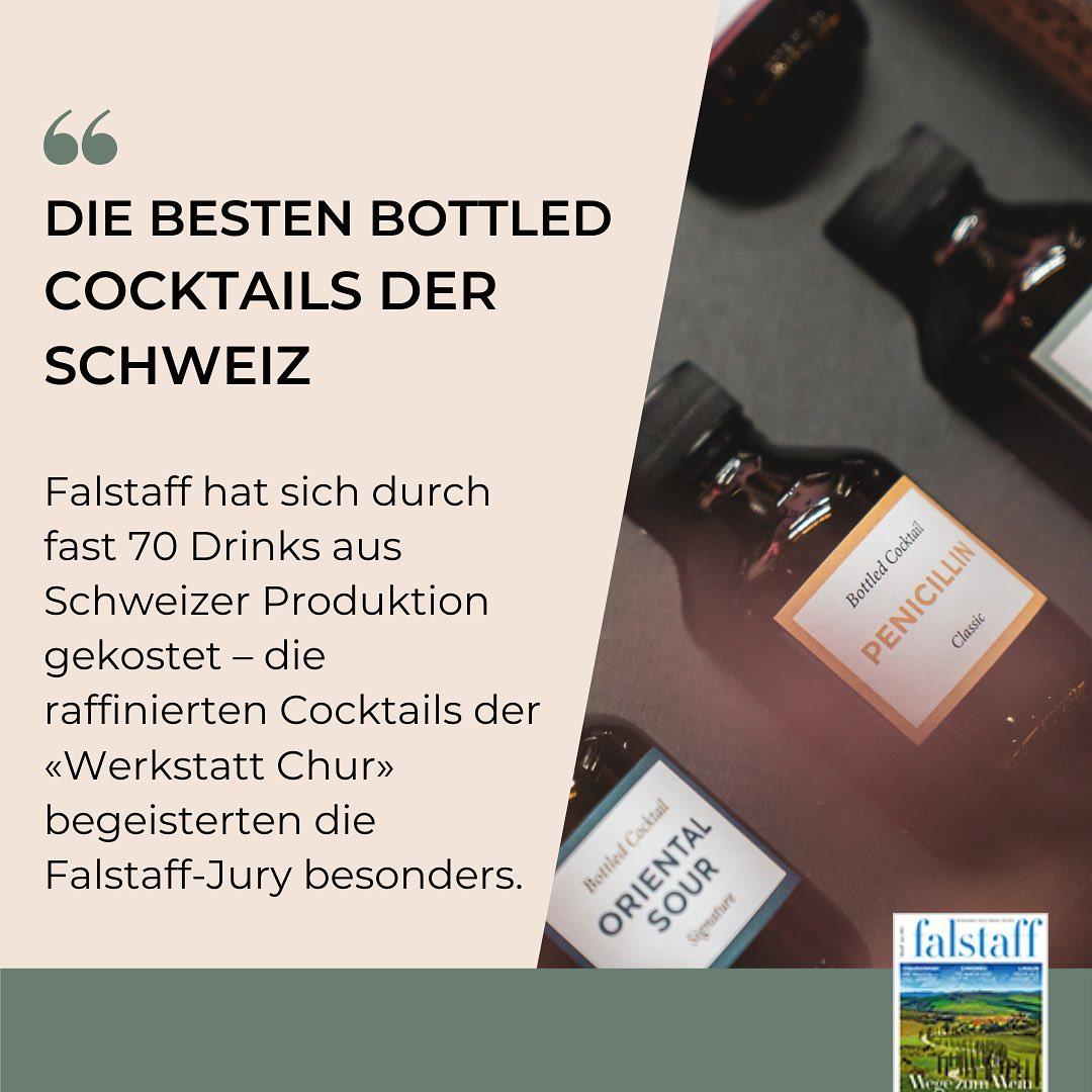 Die besten Bottled Cocktails der Schweiz (via Falstaff)